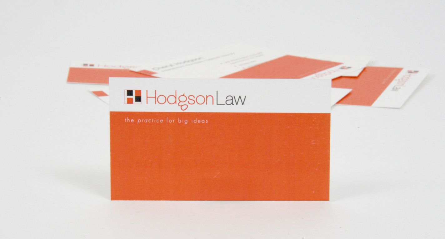 Law Firm - Business Card Design; Business card - also a good site ...