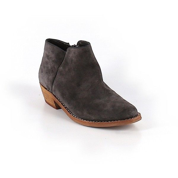 1fe61403f Pre-owned Sam Edelman Ankle Boots Size 7 1 2  Gray Women s Shoes ...