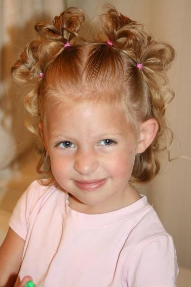 12 Adorable Toddler Girl Hairstyles Toddler Curly Hair
