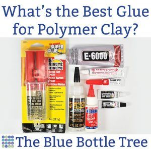 Ever wonder what is the best glue for polymer clay?