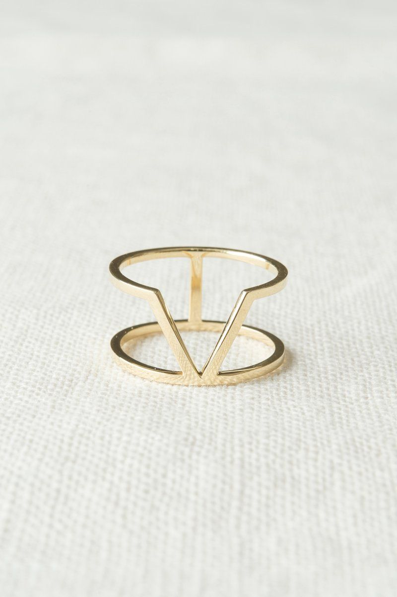 Dara 14k Gold Ring Still House With Images Womens