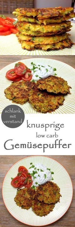 low carb Gemüsepuffer #lowcarbveggies