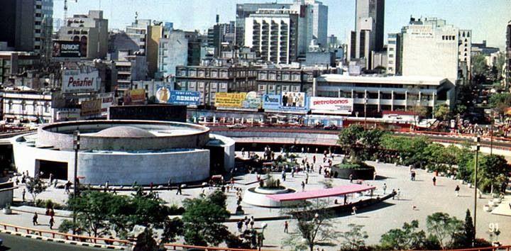 Glorieta insurgentes en 1978