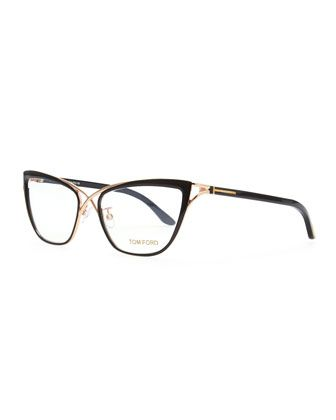 5cecb390973 Crossover Cat-Eye Fashion Glasses by Tom Ford at Bergdorf Goodman ...