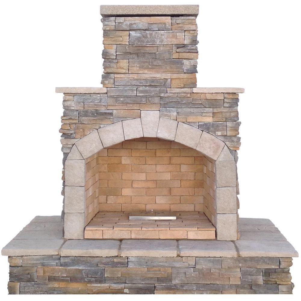 Pavestone RumbleStone in x in x in Outdoor Stone