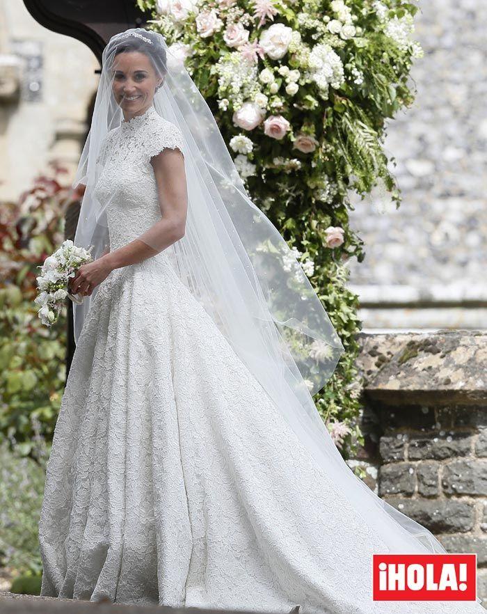 Segundo vestido novia pippa middleton