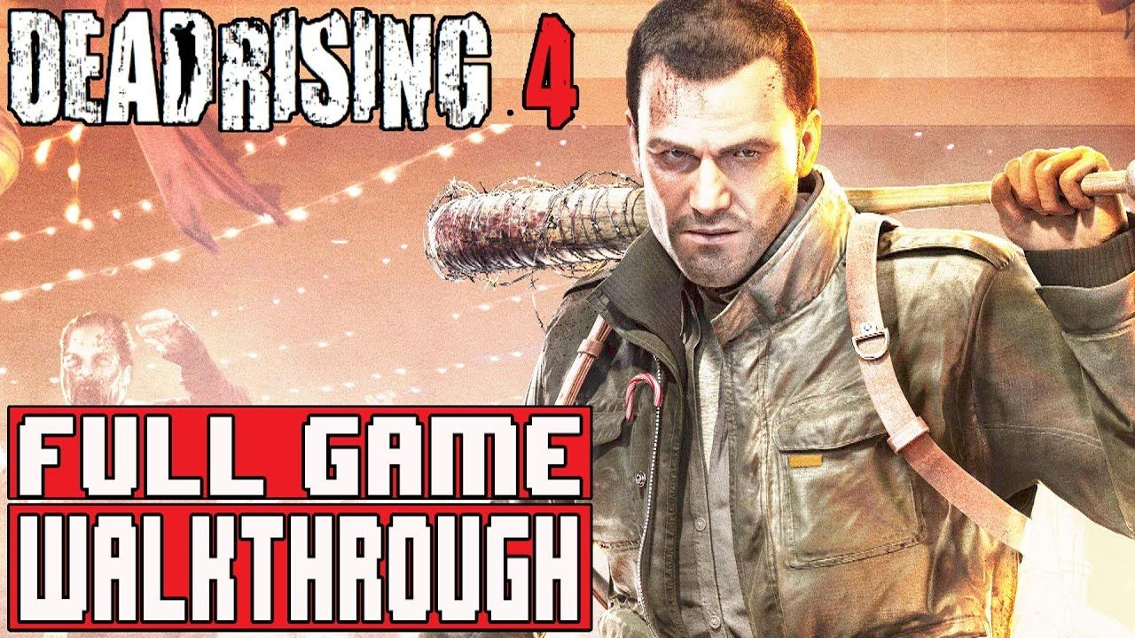 Dead Rising 4 Gameplay Walkthrough Part 1 Full Game 1080p No Playstation Commentary