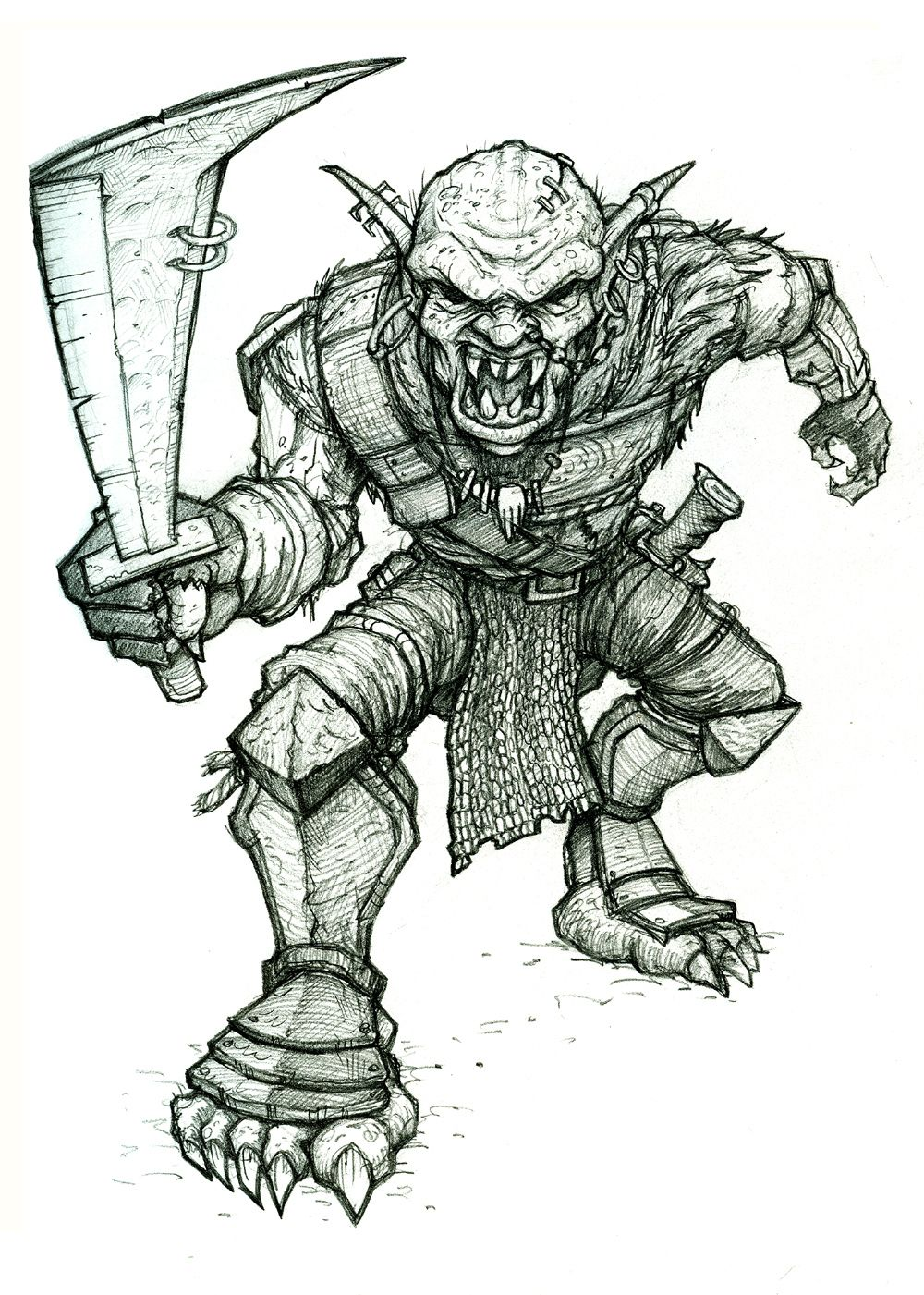 Orc from Lord of the Rings | Movie Monsters, Creatures, Villains ...