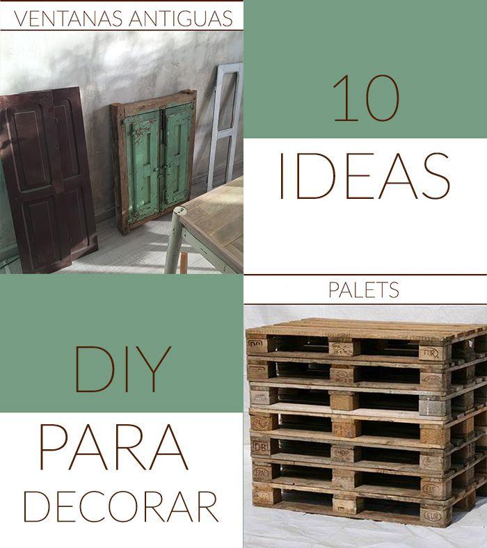 Amuebla tu casa por poco dinero latest decoracion vintage muebles con palets y reciclados ideas - Amueblar casa por 1000 euros ...