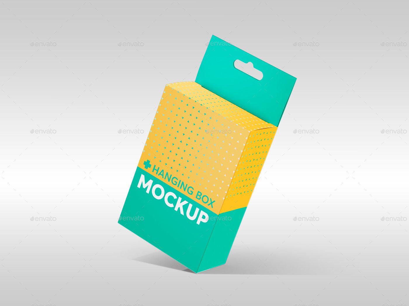 Download Hanging Box Mockups V 1 Hanging Box Mockups Box Mockup Box Packaging Design Packaging Design