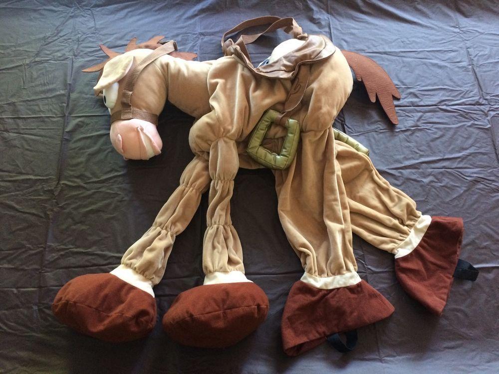 Toy Story 4 Halloween Costumes.Disney Store Bullseye Horse Toy Story Xs 4 5 6 Plush Halloween