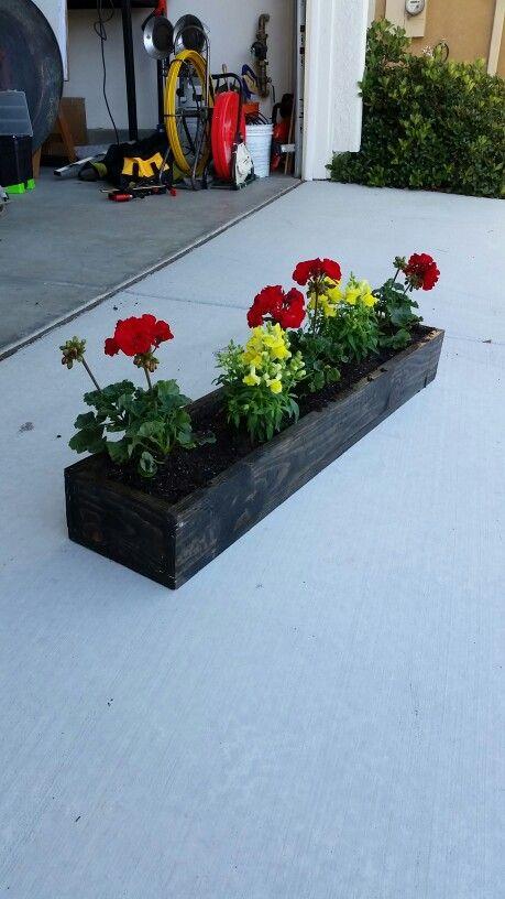 Wood Flower Box Things I Ve Made