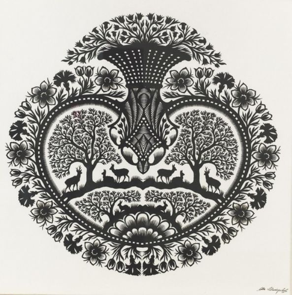 Art pictures artist ueli hofer it 39 s so delicate and for Beautiful paper cutting art