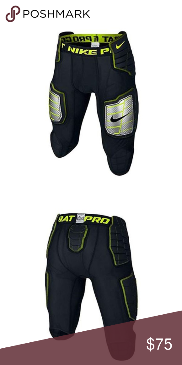 8638ce6aaa789 Nike Hyperstrong Compression Football Pants MED Nike 584387-011 Pro Combat  Hyperstrong 3.0 Compression Hard