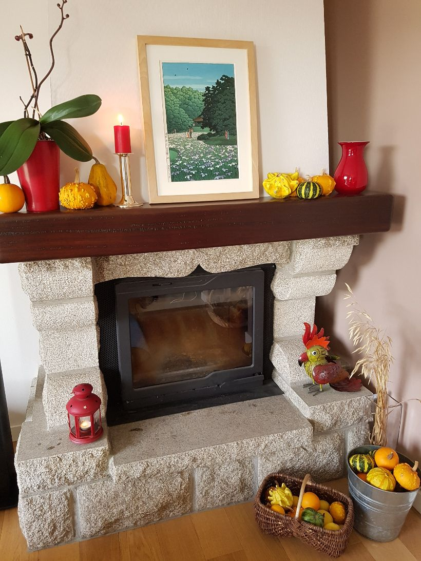 Deco De Table Bretonne 11 idées de décoration de cheminée   decoration cheminee