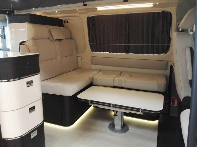Westfalia Kepler Photo 5 Luxury Van Van Interior Ford Transit Campervan
