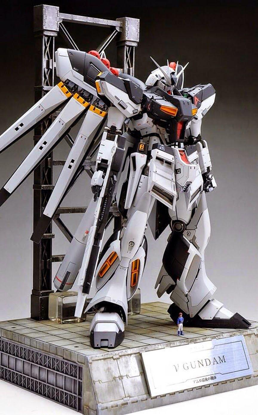 1100 Rx782 Gundam Ver Ka Custom Build And Rx 93 V Nu Master Grade Daban Model Http Gundamguyblogspottw 2014 11 Mg Hi Customized 15html