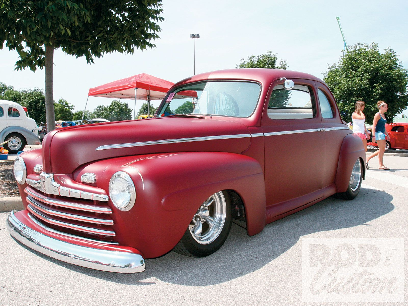 Street rods the nsra street rod nationals 1946 ford coupe photo 16