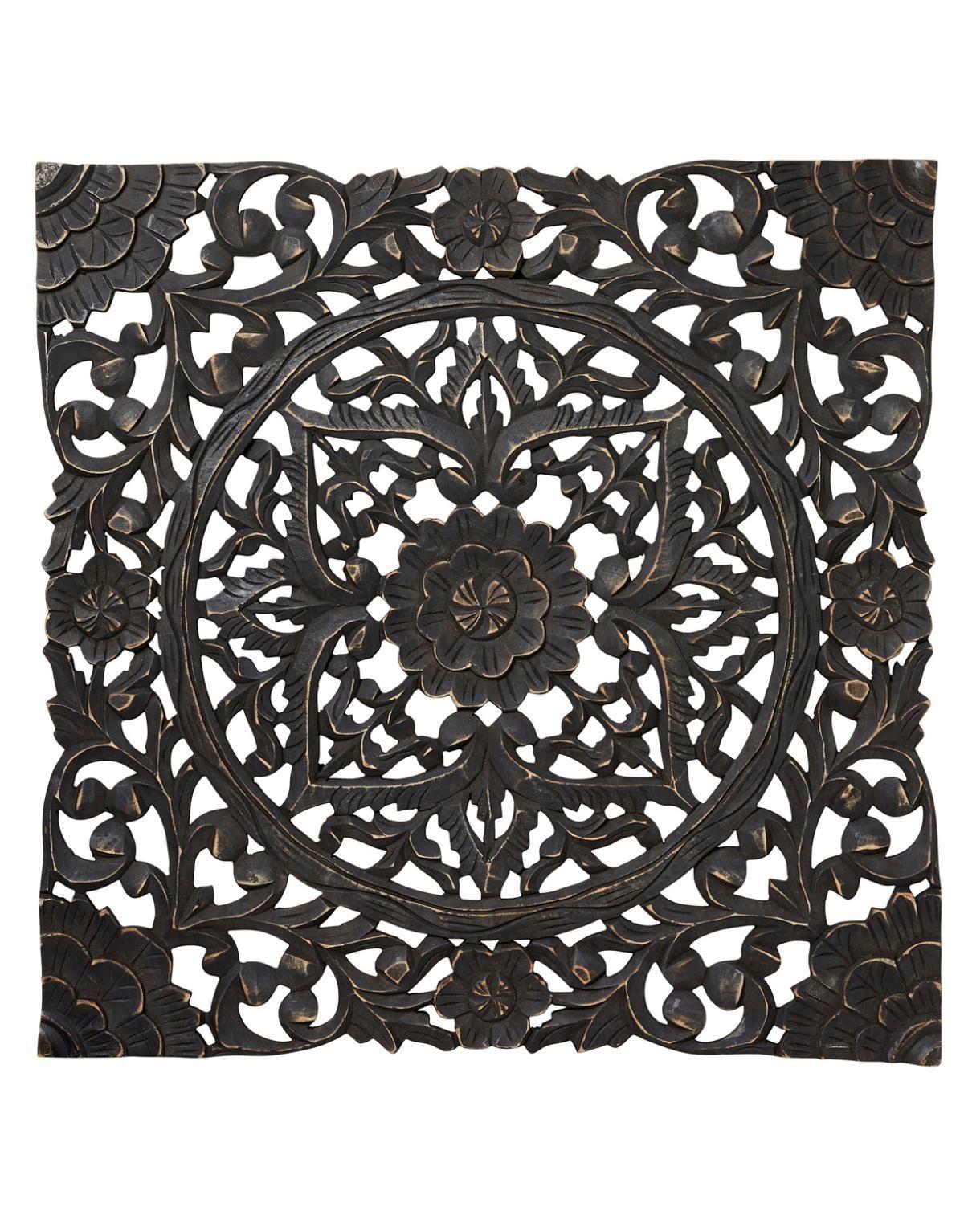 sarita wall deco dekoration svart other decorations. Black Bedroom Furniture Sets. Home Design Ideas