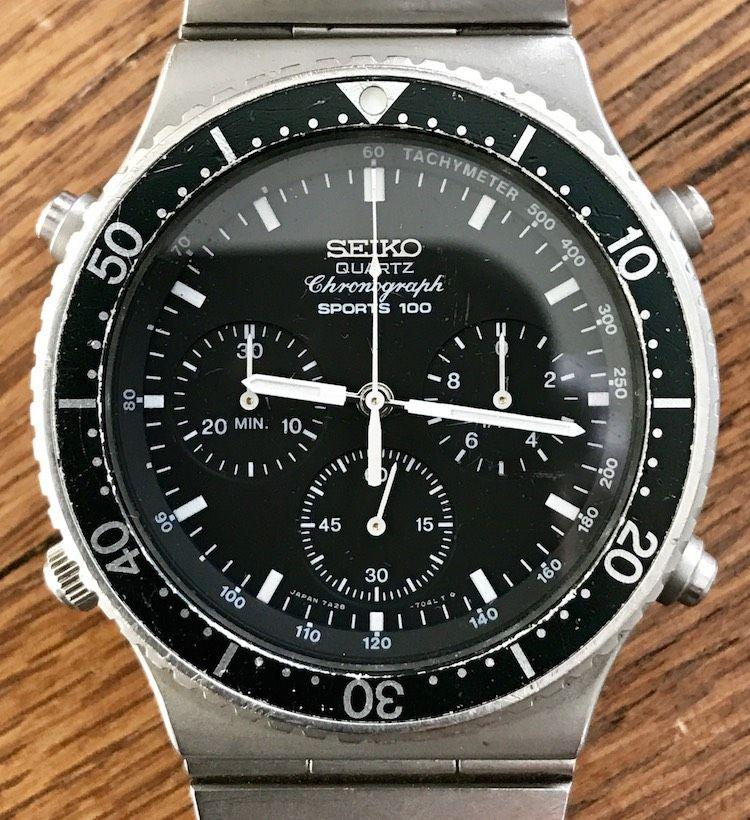 """5a22800a9 For Sale: Seiko 7a28-7049 """"Speedmaster"""" Quartz Chronograph  (newoldstockwatches@gmail.com)"""