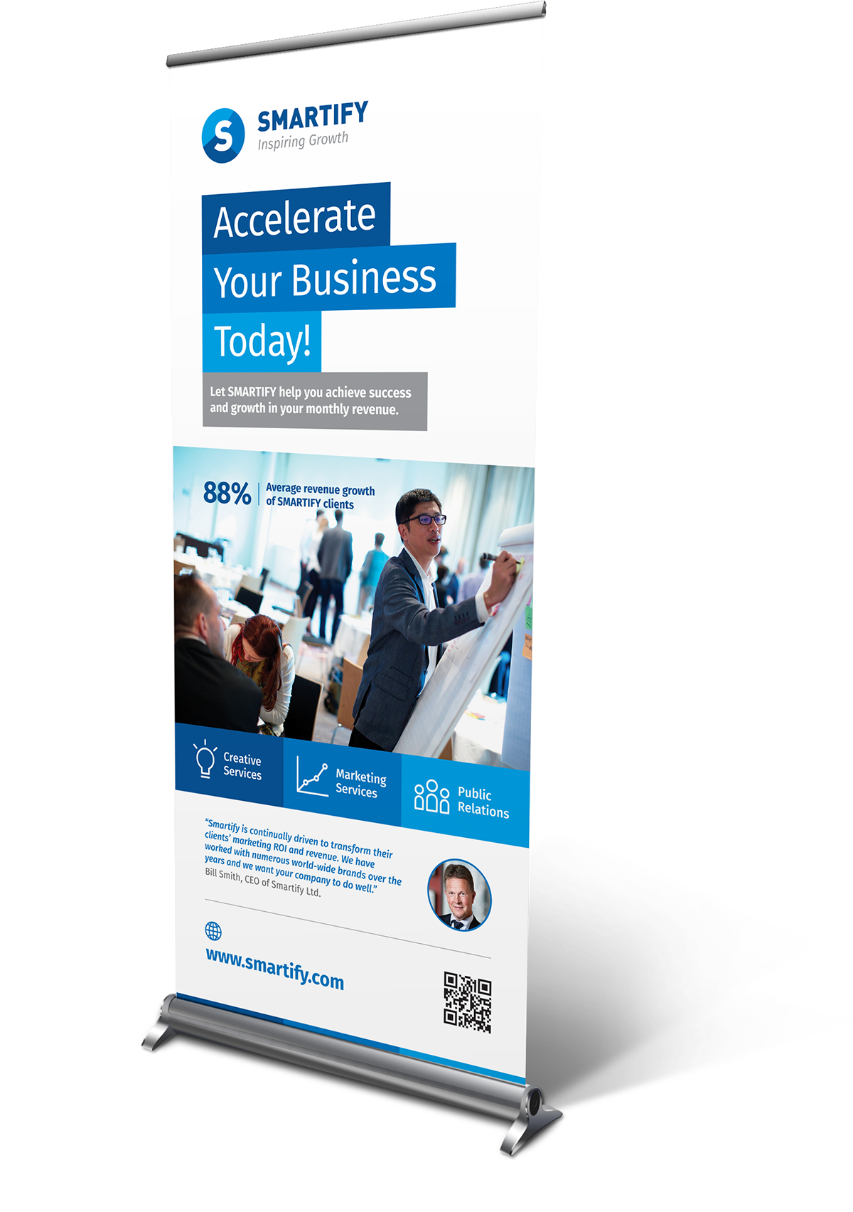 corporate business roll up banners template for download graphic