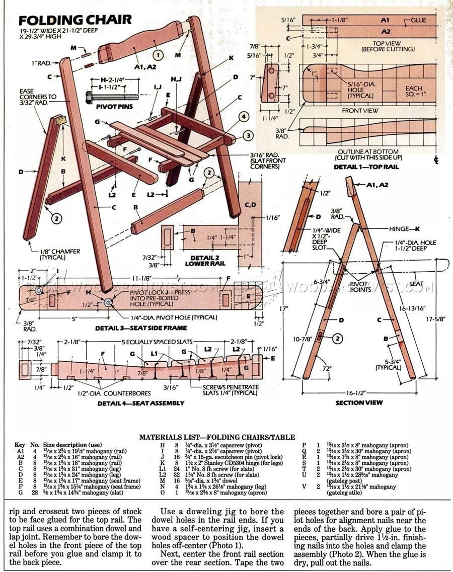 Folding Table Schematic - Wiring Diagram Sys