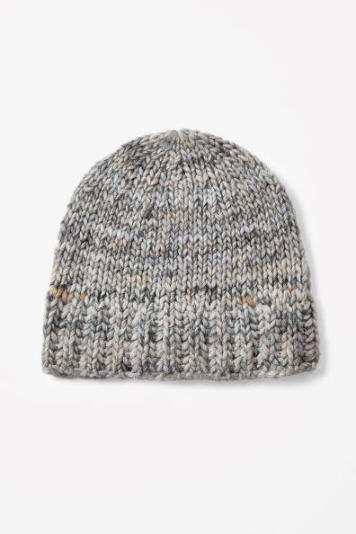 Wool alpaca hat