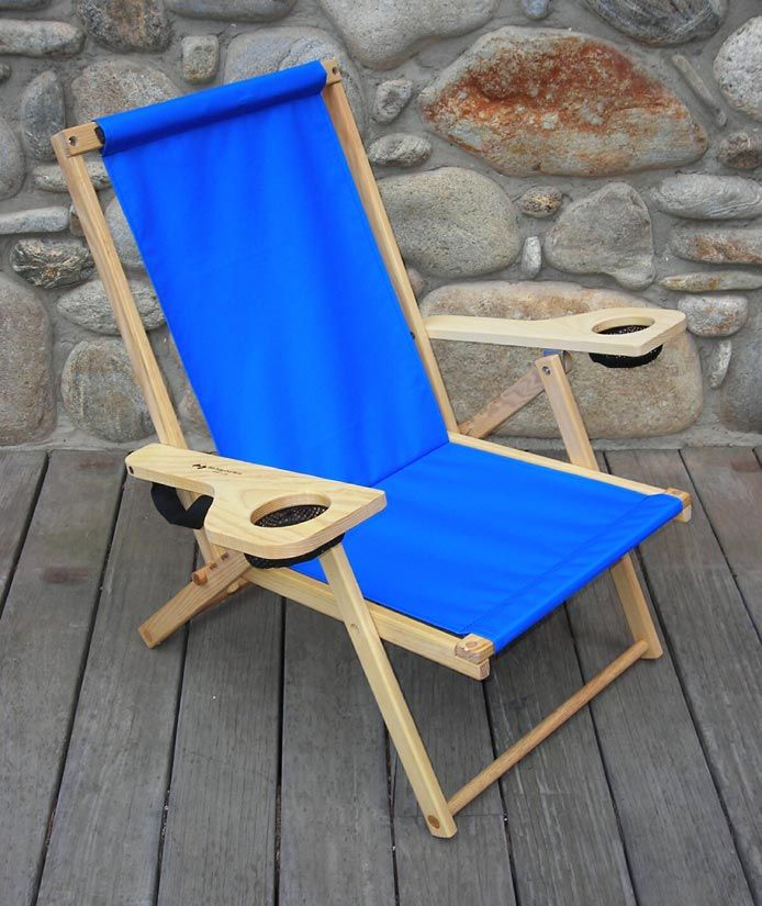 Beach Chair Wooden Camping Chairs