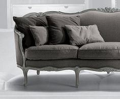 Provence Mobel Style : Reupholster french provincial sofa google search grain sack