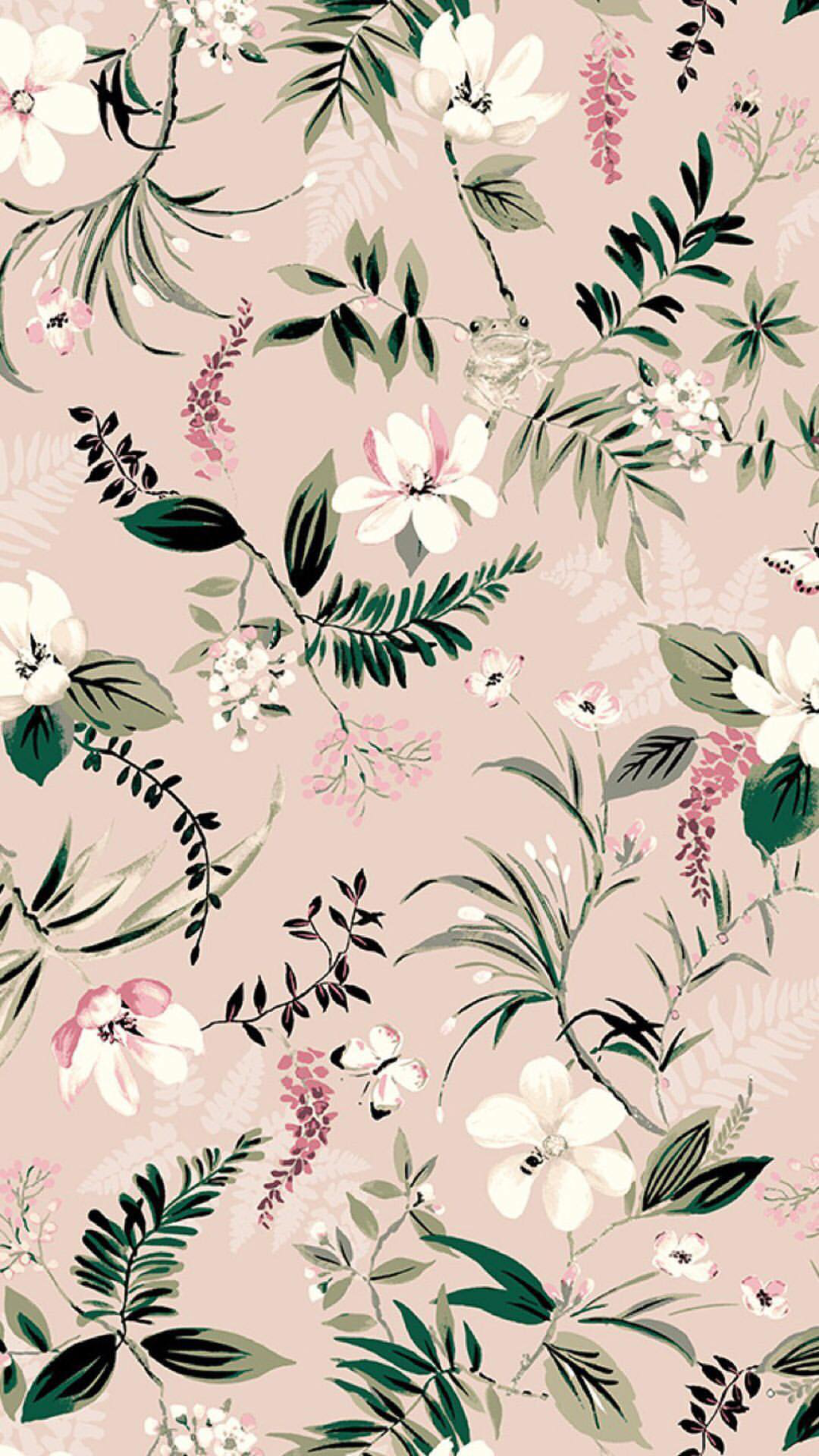 Phone Background Floral Wallpaper Kate Spade Wallpaper Flower