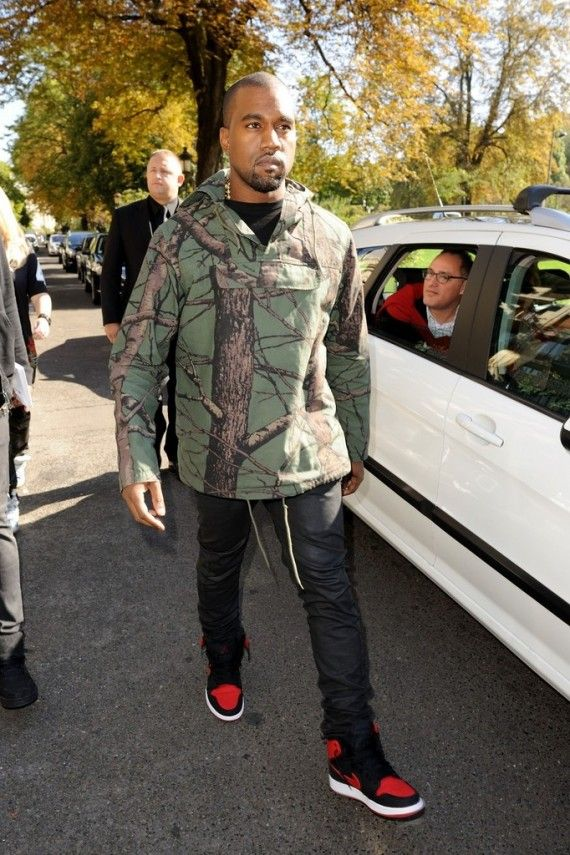 Kanye West in Bred Air Jordan AJKO   Outfits I want to ...