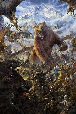 Beorn ..... Battle of the Five Armies