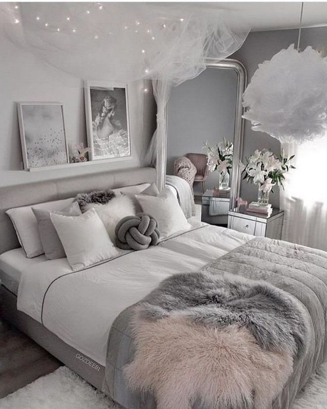 40 Cute And Girly Bedroom Decorating Tips For Girl 48 With