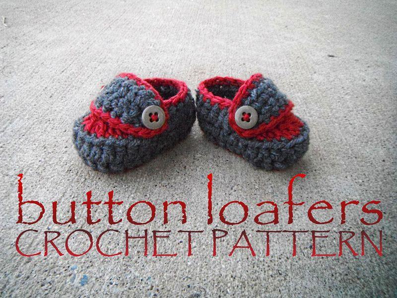 non*sense..: baby loafer pattern FREE | crochet | Pinterest ...