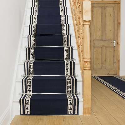 Best Details About Key Dark Blue Stair Carpet Runner Narrow 640 x 480