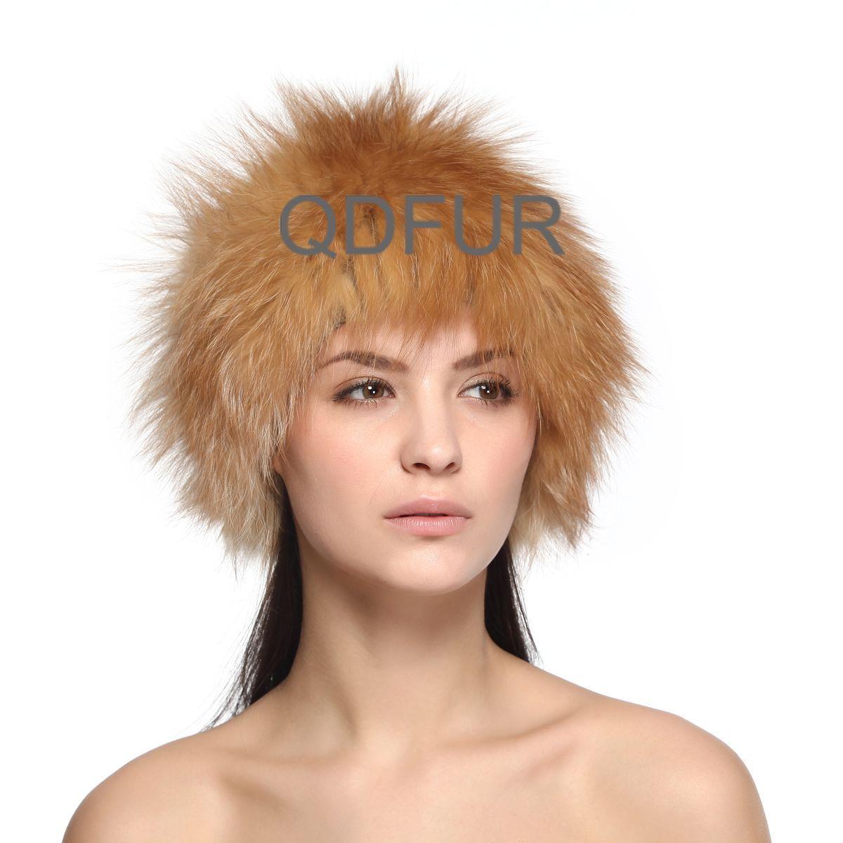 Queenshiny Womens 100/% Real Rex Rabbit Fur Knitted Beanie Cap Hat
