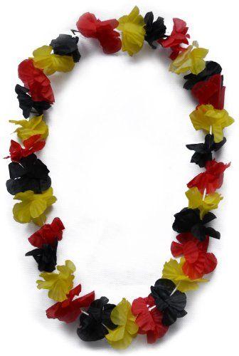 """Tolle Fanartikel zur WM2014, wie """"extra lange BRD Blumenkette, Deutschland Farben, Hawaiikette"""" jetzt hier kaufen: http://fussball-fanartikel.einfach-kaufen.net/schals-tuecher/extra-lange-brd-blumenkette-deutschland-farben-hawaiikette/"""