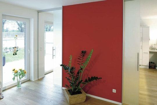 Des Couleurs Chaudes Sur Les Murs Du Salon Murs Rouges Murs Du