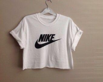 Diy Nike Shirt!! -transfer paper -iron -shirt (cut it to a