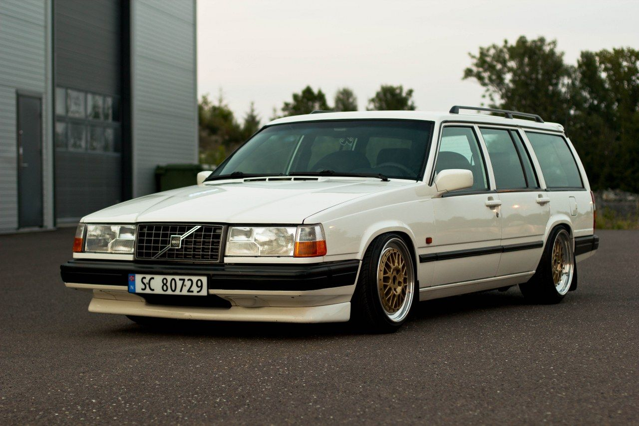 From Family Volvo 940 To Track Show Car Tbgstance