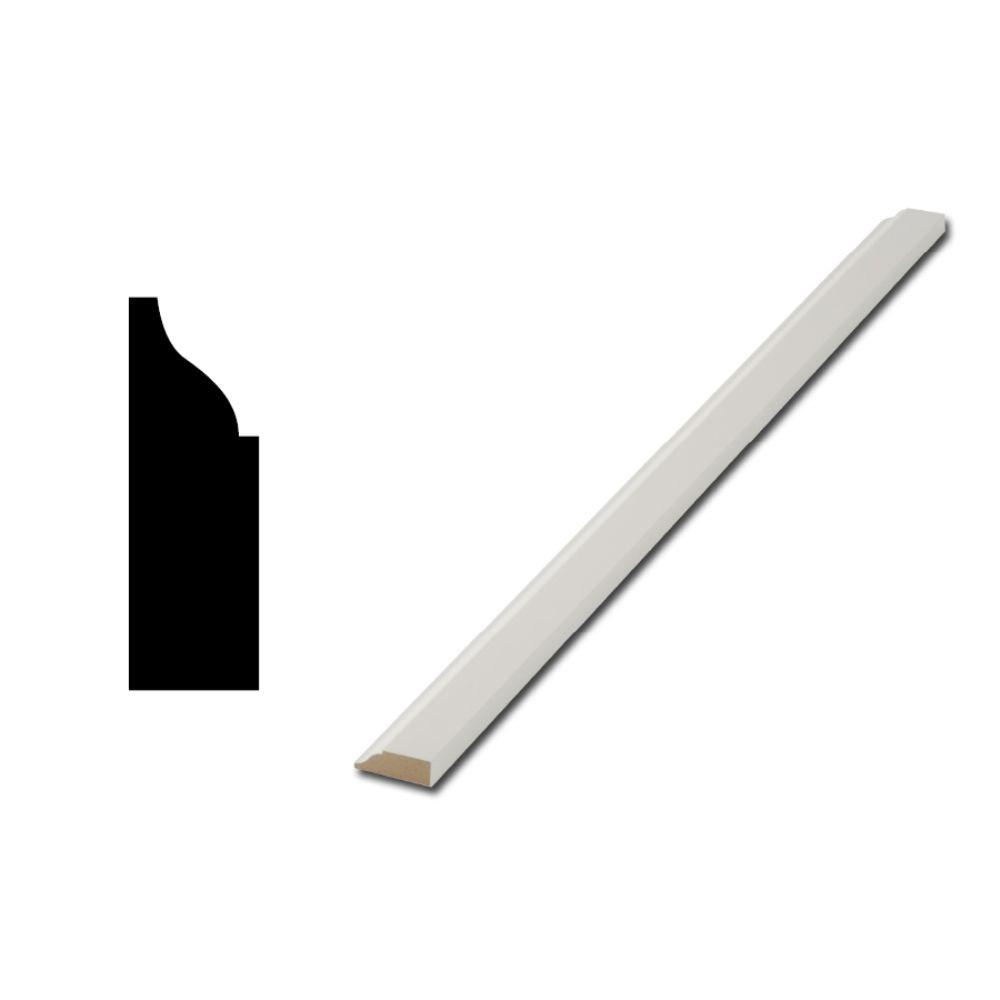 Finished Elegance Wm937 7 16 In X 1 1 4 In Mdf Door And Window Stop Moulding 10001623 The Home Depot With Images Window Stops Mdf Doors Moldings And Trim