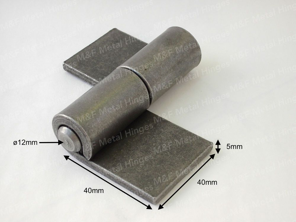 Weld On Heavy Duty Steel Hinges 1 Pair Welding Projects Weld On Hinges Welding