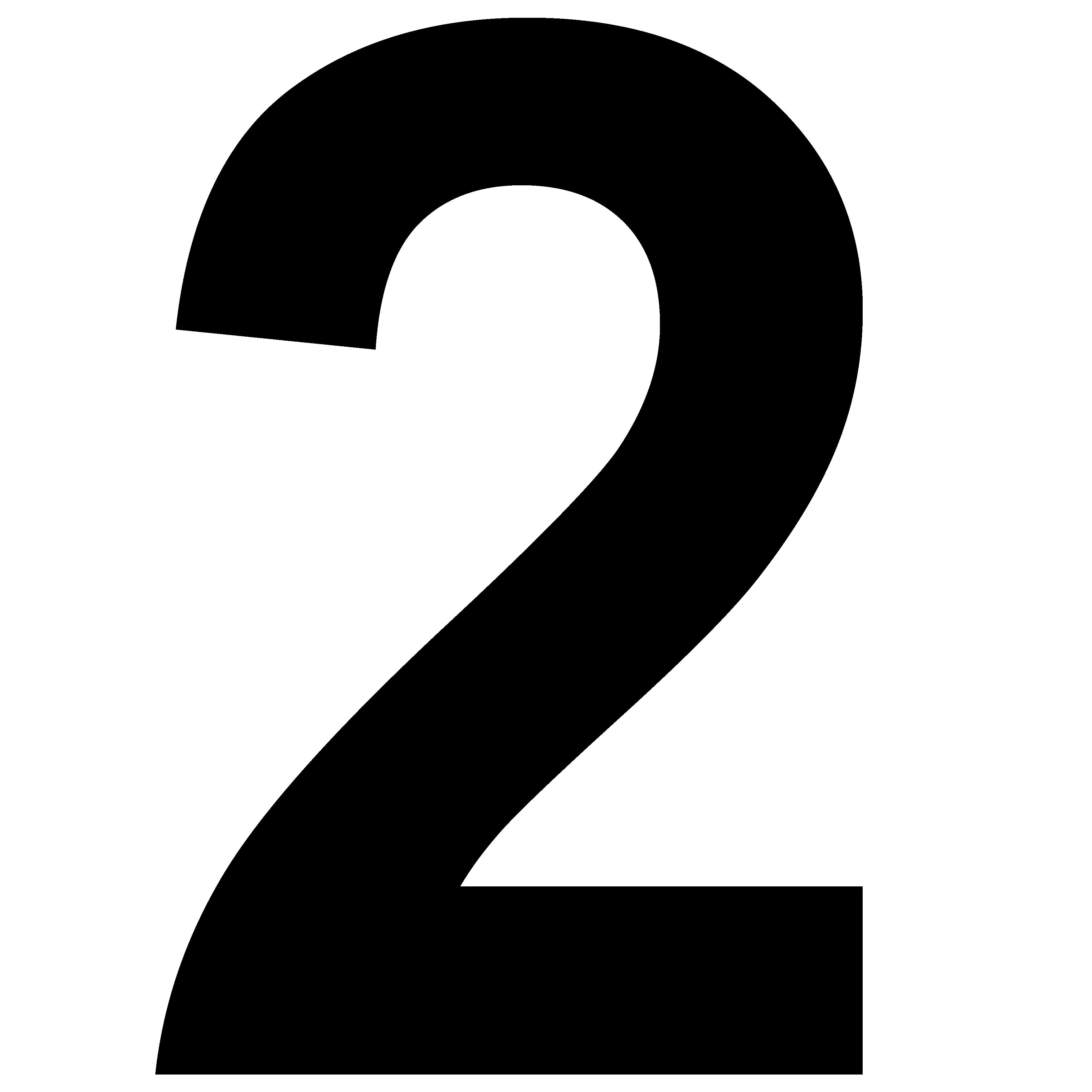 Image result for number 2 | lettering | Pinterest | Number