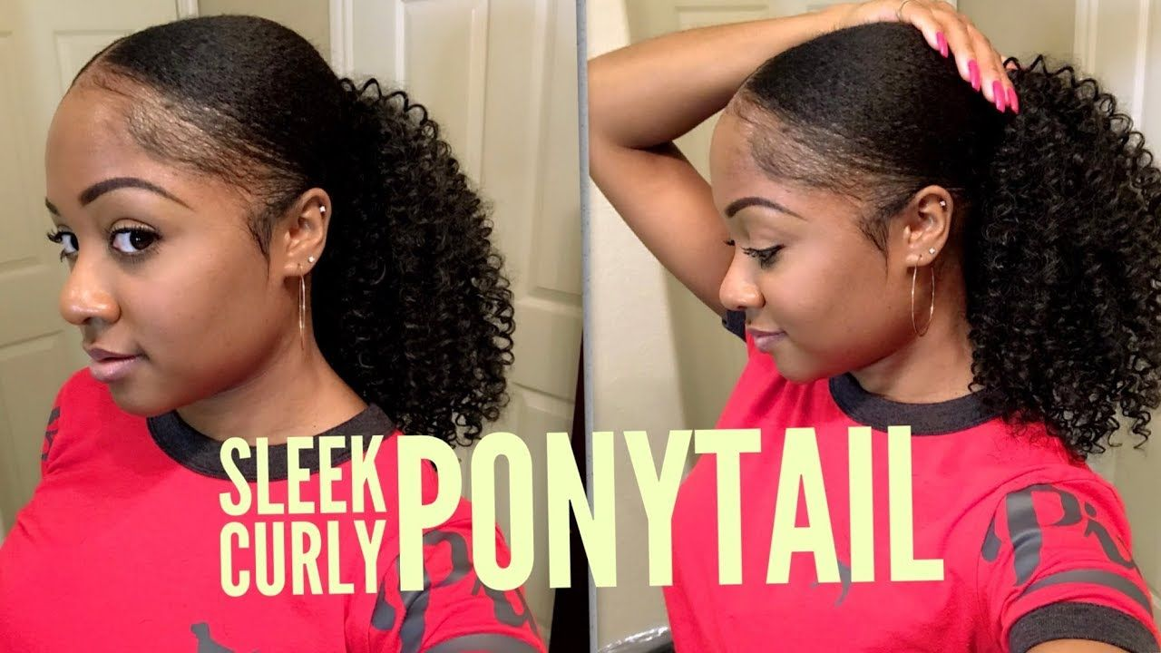 Sleek curly ponytail outre big beautiful hair c whirly