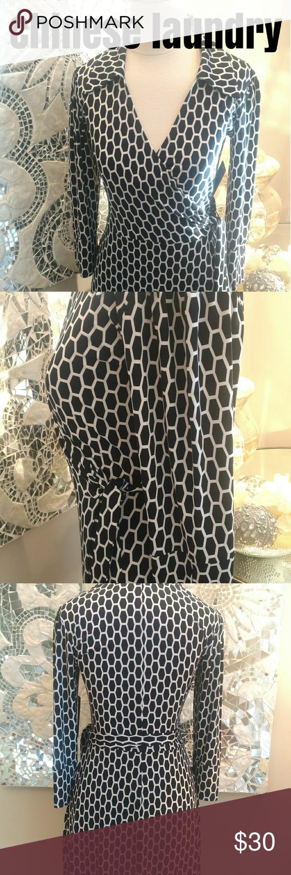 Chinese laundry wrap dress nwt laundry dresses chinese laundry
