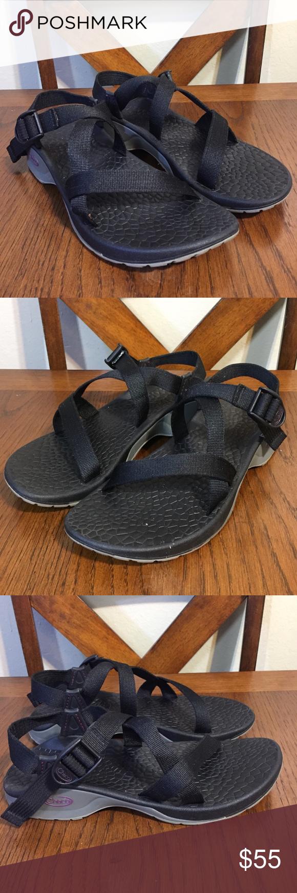 Chaco Updraft Bulloo Shadow Gray Sport Sandals Sz9
