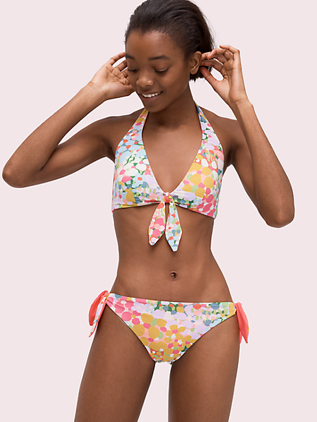 321ae529b3685 Kate Spade Floral Dots Reversible Bikini Bottom, Size XL in 2019 ...