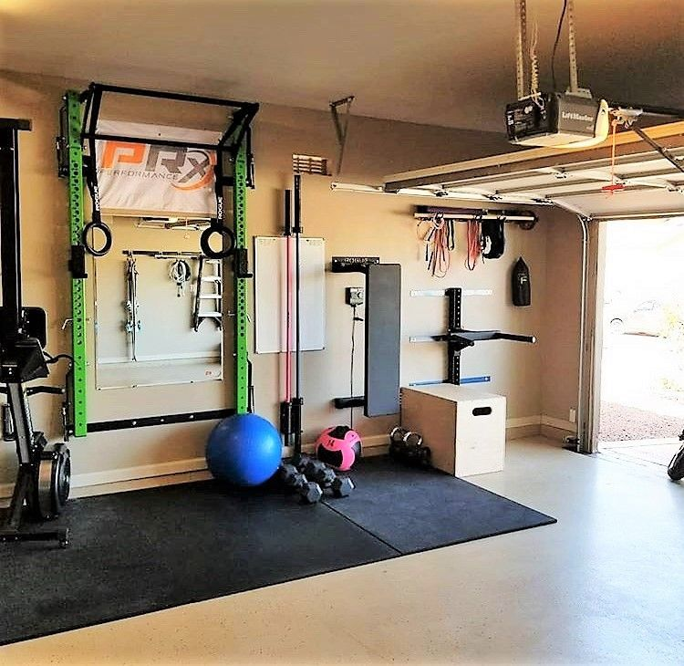 Home gym storage solutions put your membership fees back into