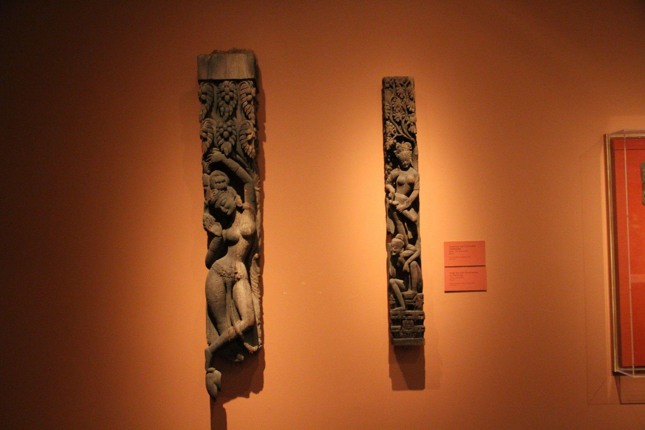 Hermosas tallas chinas en madera.