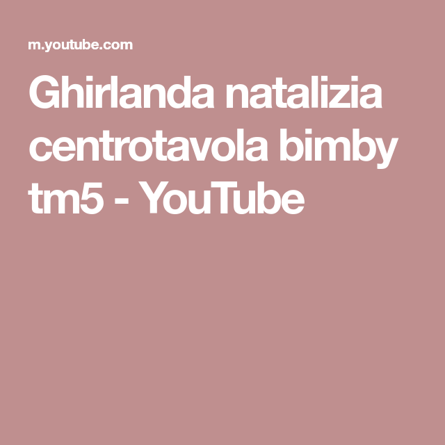 Photo of Ghirlanda natalizia centrotavola bimby tm5
